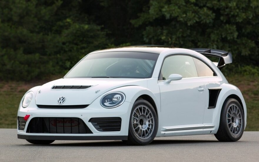 "Pristatytas lenktyninis 544 AG ""Volkswagen Beetle"" automobilis"