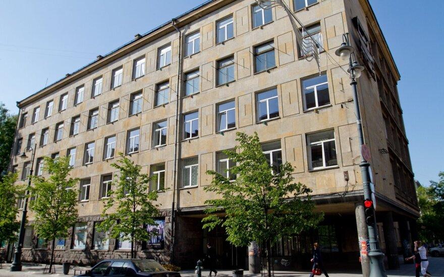 Teismas atmetė Architektų rūmų pretenzijas dėl pastato Gedimino prospekte įstiklinimo