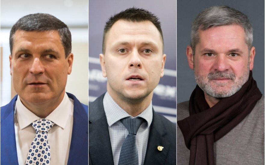 Arūnas Pukelis, Edgaras Stankevičius, Paulius Malžinskas
