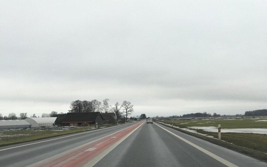 """""""Via Baltica"""" kelio atkarpa tarp Panevėžio ir Pasvalio rajono"""