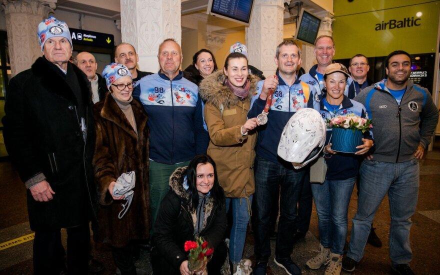 Lietuvos rekordą Dakare pakartojęs Bardauskas grįžo namo