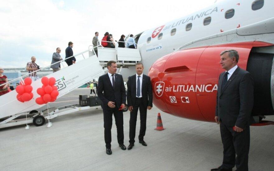 """""""Air Lituanica"""" dėsto savo versiją, kodėl nutrūko darbas su estais"""