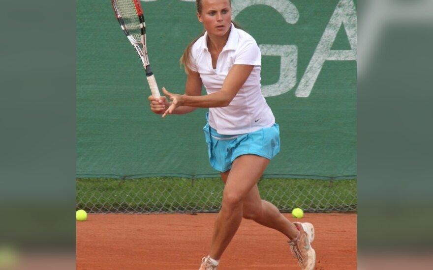 L.Stančiūtei nepavyko patekti į teniso turnyro Suomijoje pusfinalį
