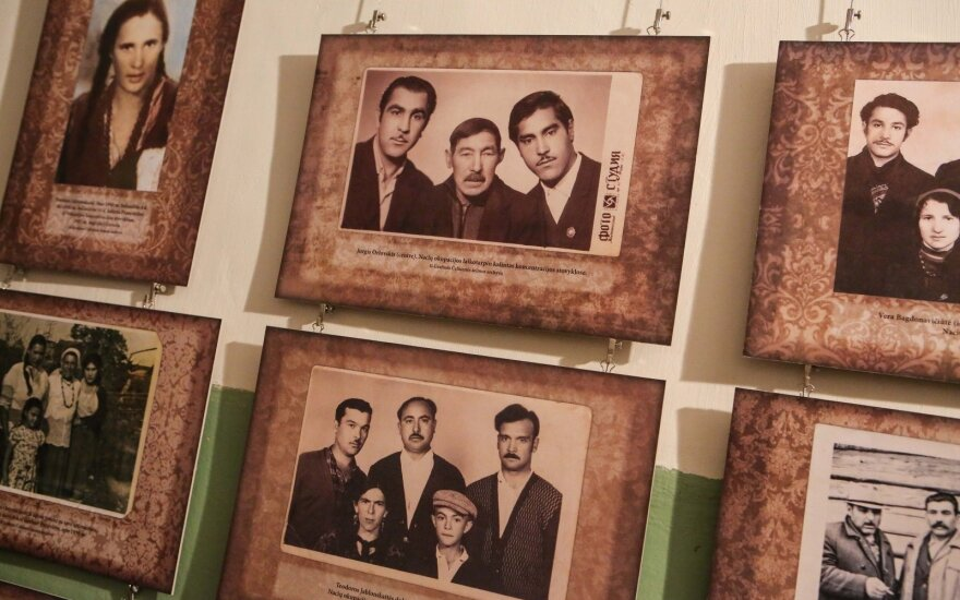 Roma families killed during WWII