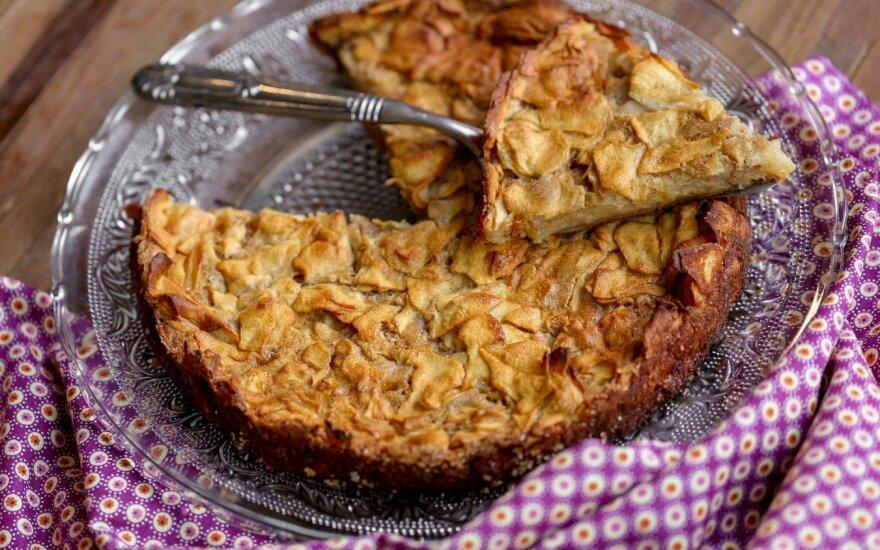 Obuolių pyragas, kuriam dar niekas neatsispyrė