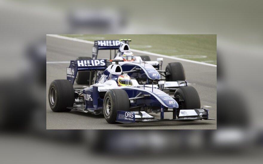 """""""Williams"""" komandos naujieji automobiliai"""
