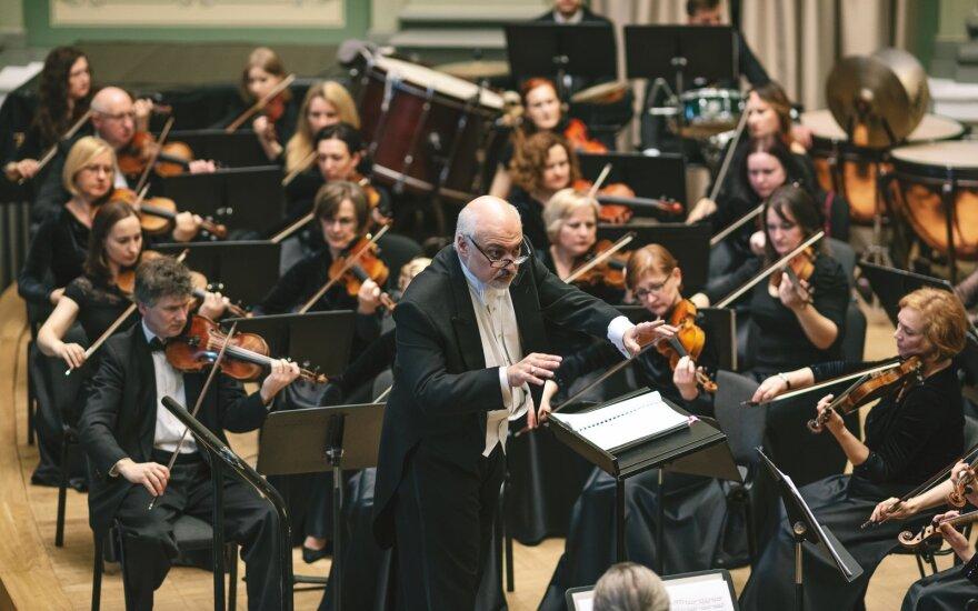 Kauno miesto simfoninis orkestras ir Constanine'as Orbelianas