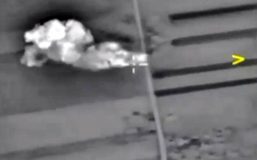 Rusija giriasi sunaikinusi IS džihadistų vadavietę