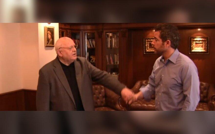 Amerikiečių žurnalisto pokalbis su M. Gorbačiovu pasisuko netikėta linkme
