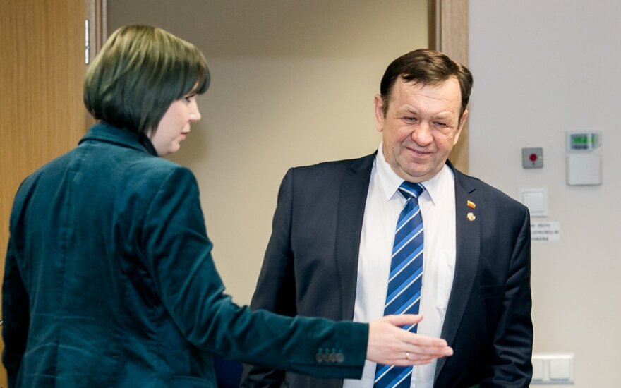 Dovilė Šakalienė ir Kęstutis Pūkas