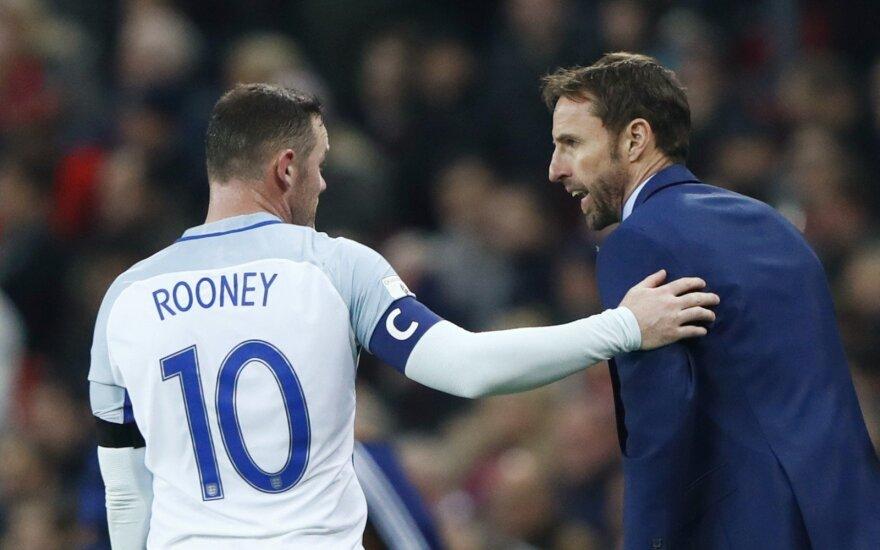 Wayne'as Rooney ir Garethas Southgate'as