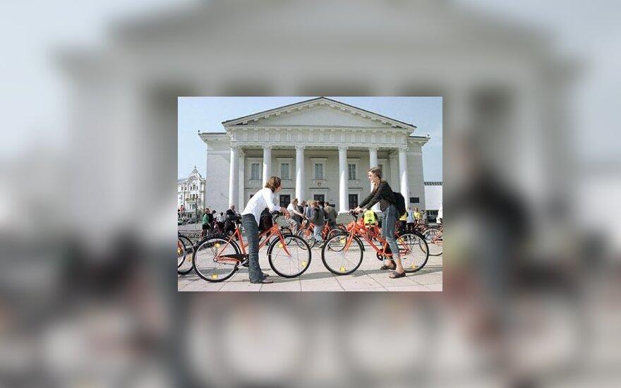 Rotušė dviračiai
