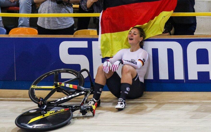 Treniruotėje avariją patyrusi olimpinė čempionė Vogel – paralyžiuota