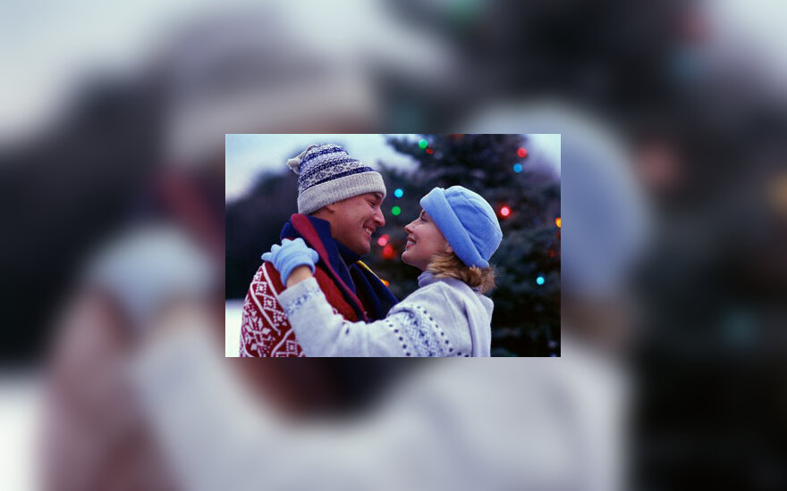 Kalėdos, pora, džiaugsmas