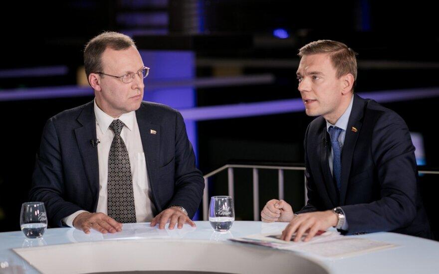Naglis Puteikis ir Mindaugas Puidokas