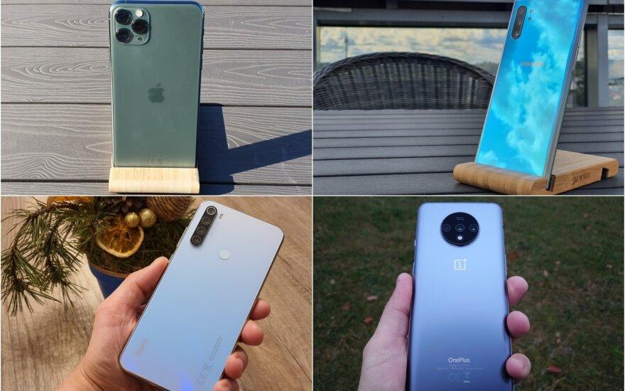 Geriausi 2019-ųjų metų telefonai