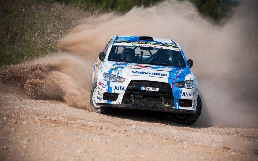 """Nuožmi kova iki pat finišo – išskirtinis """"DHL Rally Elektrėnai"""" bruožas"""