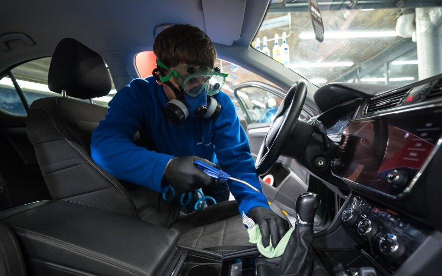 Automobilio dezinfekcija