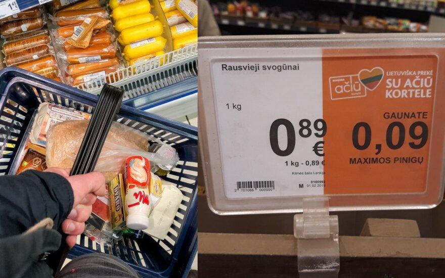 """""""Maximos"""" paskelbta akcija sukėlė klausimų: kodėl """"lietuviškų"""" svogūnų kilmės šalis yra Lenkija?"""
