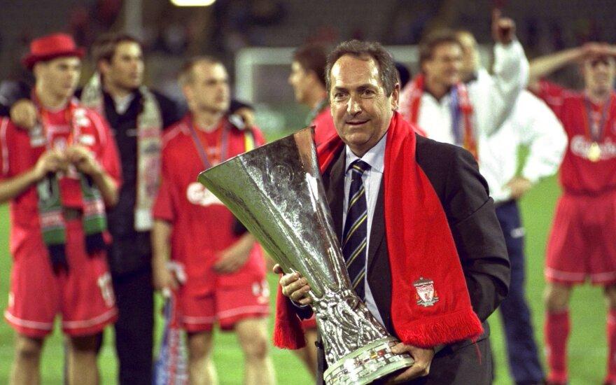 "Mirė legendinis ""Liverpool"" treneris Gerardas Houllier"