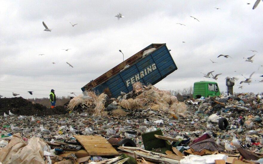 Vyriausybė svarstys dėl siūlymo atliekų deginimo jėgaines statyti toliau nuo namų