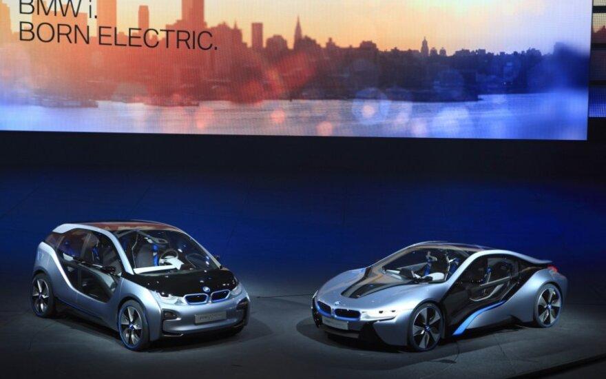 BMW i3 Concept ir BMW i8 Concept