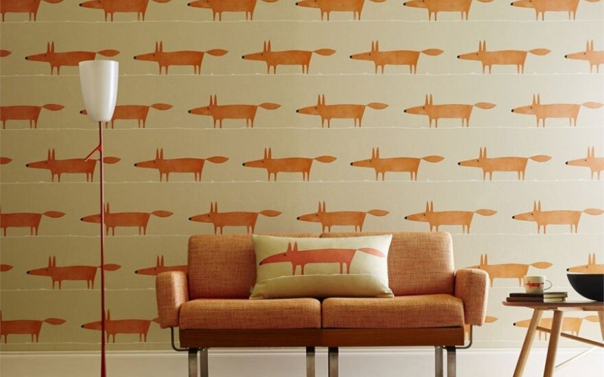 Kaip namus siūlo dekoruoti garsūs tekstilės ir tapetų dizaino namai?