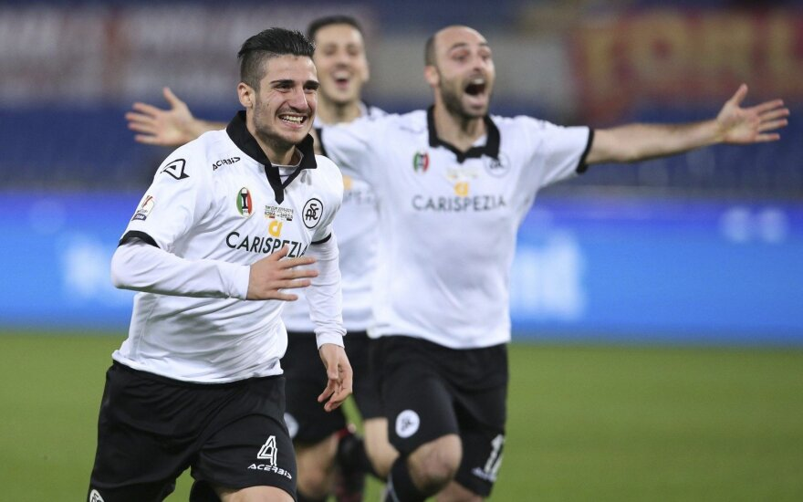 """Spezia"" futbolininkai džiaugiasi"