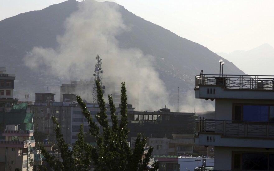 Per oro antskrydį Afganistane žuvo 14 civilių