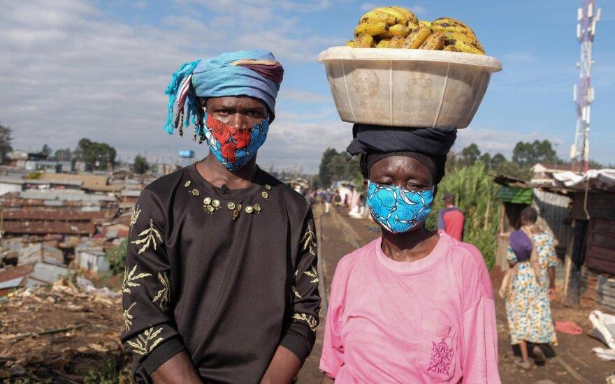 Koronavirusas Afrikoje
