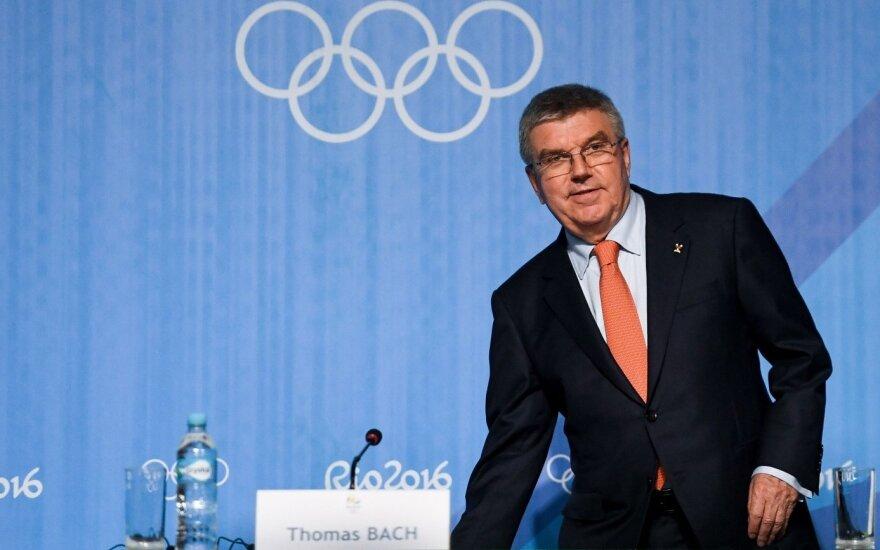 IOC galva purtosi rusų meilikavimų: norime pasiųsti pasauliui žinutę