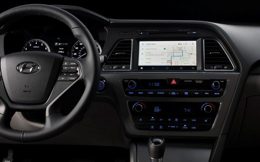 """""""Hyundai"""" ketina pristatyti naujų visureigių ir taip atkurti augimą"""