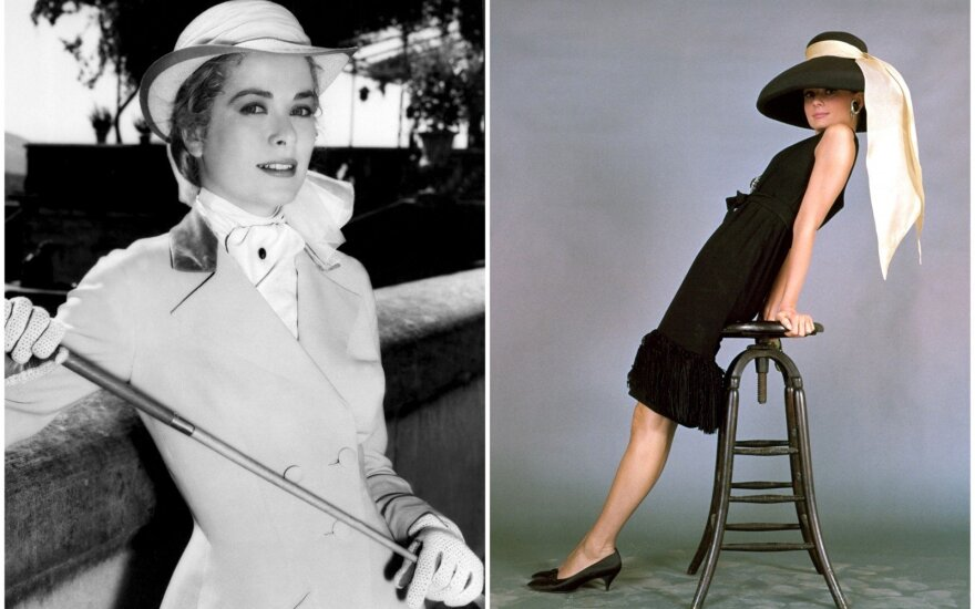Grace Kelly, Audrey Hepburn