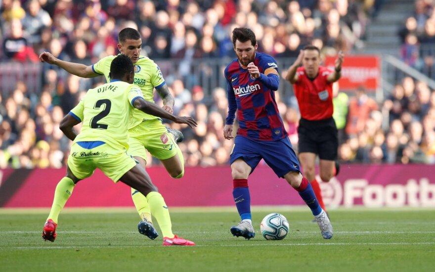 """""""Barcelonai"""" laimėti prireikė VAR įsikišimo"""