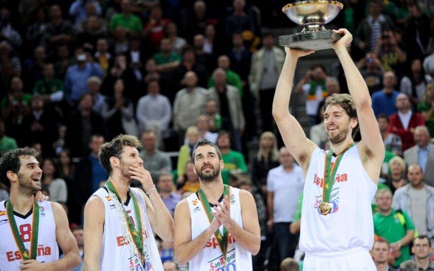 2011 metais Kaune triumfavo Ispanijos krepšininkai