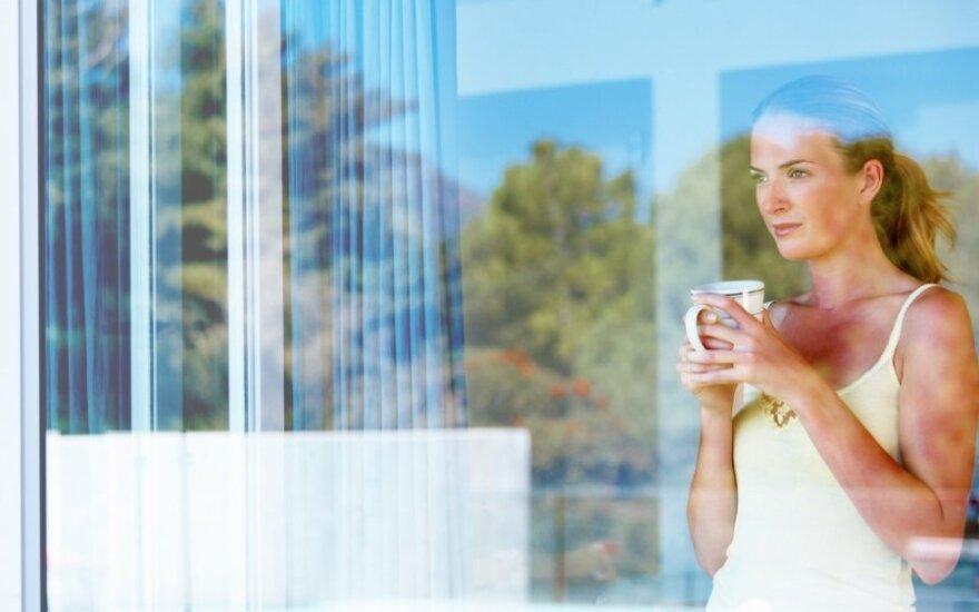 Dienos patarimas: kaip pasigaminti langų ploviklį?