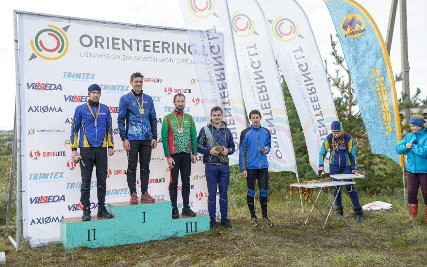 Lietuvos orientavimosi sporto čempionatas labai ilgoje trasoje