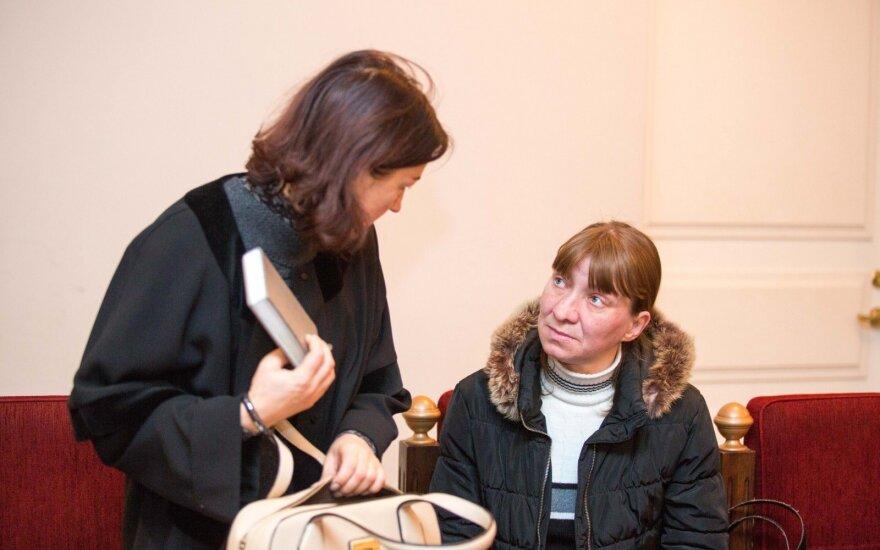 Advokatė Loreta Guižauskienė ir Svetlana Erika Putvinskienė