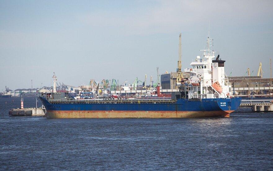 Klaipeda port