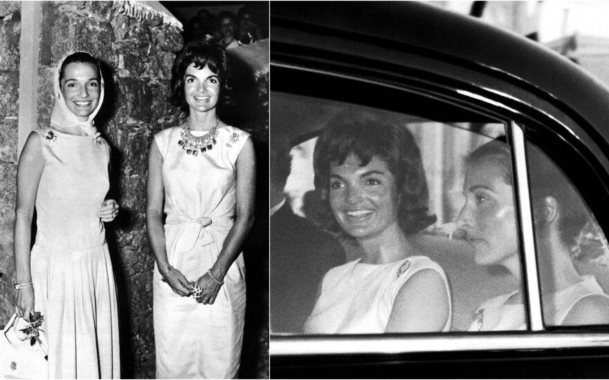 Jacqueline Kennedy Onasis ir Lee Radziwill
