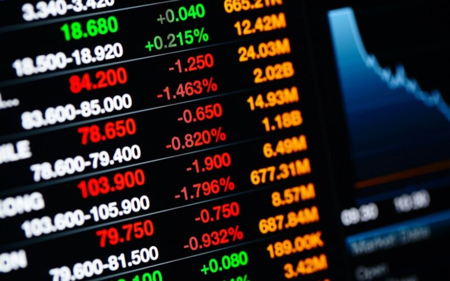 """""""Biržos laikmatis"""": JAV akcijų indeksai ilgai rekordiniuose lygiuose neužsibuvo"""
