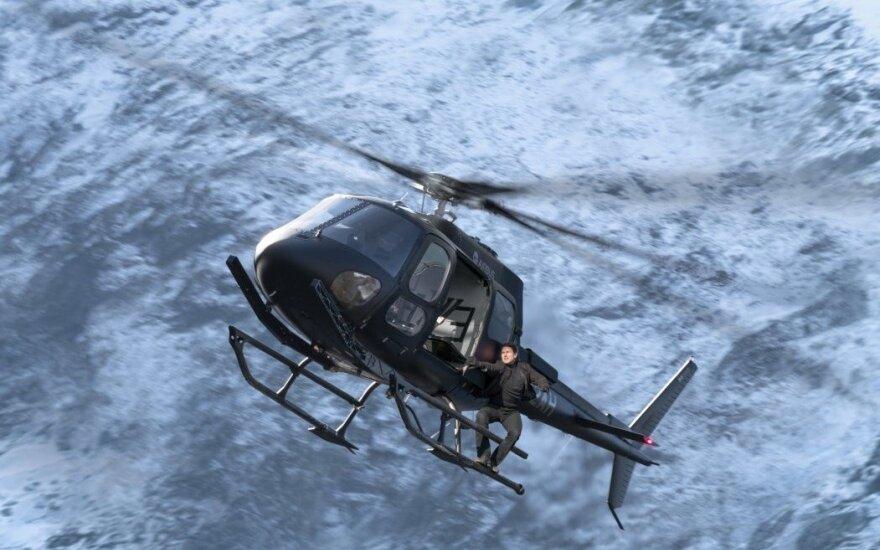 """Tomas Cruise'as filme """"Neįmanoma misija: atpildo diena"""""""
