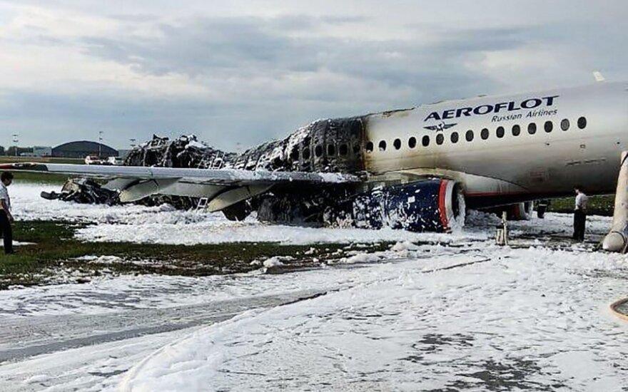 Tarp Rusijos lainerio katastrofos aukų – jaunas amerikietis