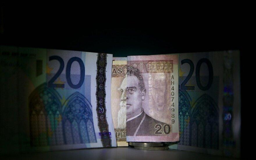 Lietuva atsisveikina su litu ir pasitinka eurą