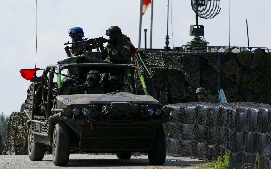 """Taivano karių pratybos """"Han Kuang"""""""