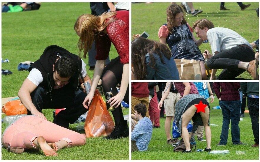 Girtavę Kembridžo studentai peržengė ribas
