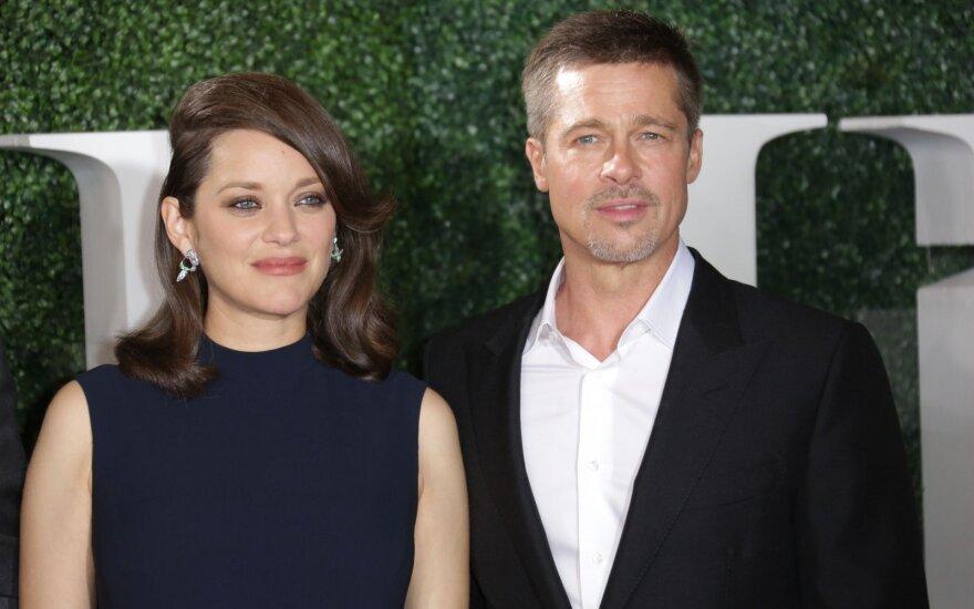 Bradas Pittas ir Marion Cotillard