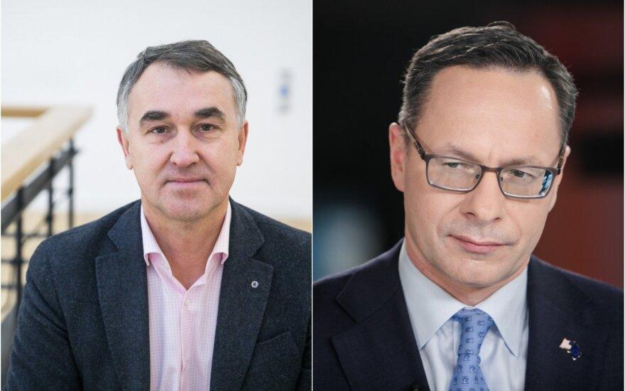 Žygimantas Pavilionis, Petras Auštrevičius. Lietuvos užsienio politikos dugnas