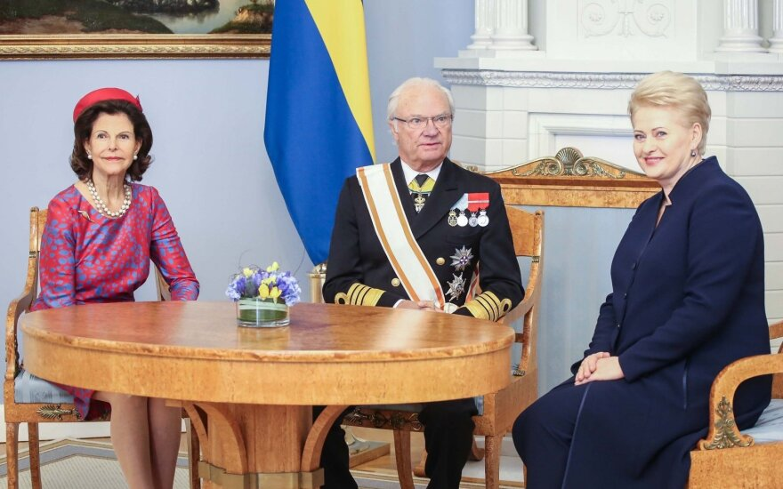 Lithuanian president: Swedish royal visit is consolidation of bonds between the countries
