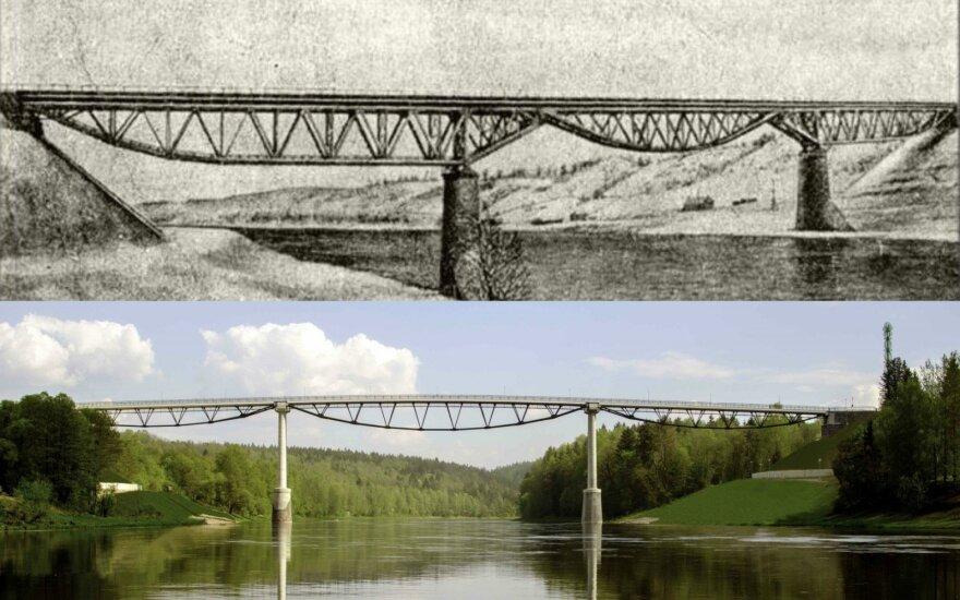 Baltosios rožės tiltas Alytuje: jo statybai XIX a. buvo išleista beprotiška suma